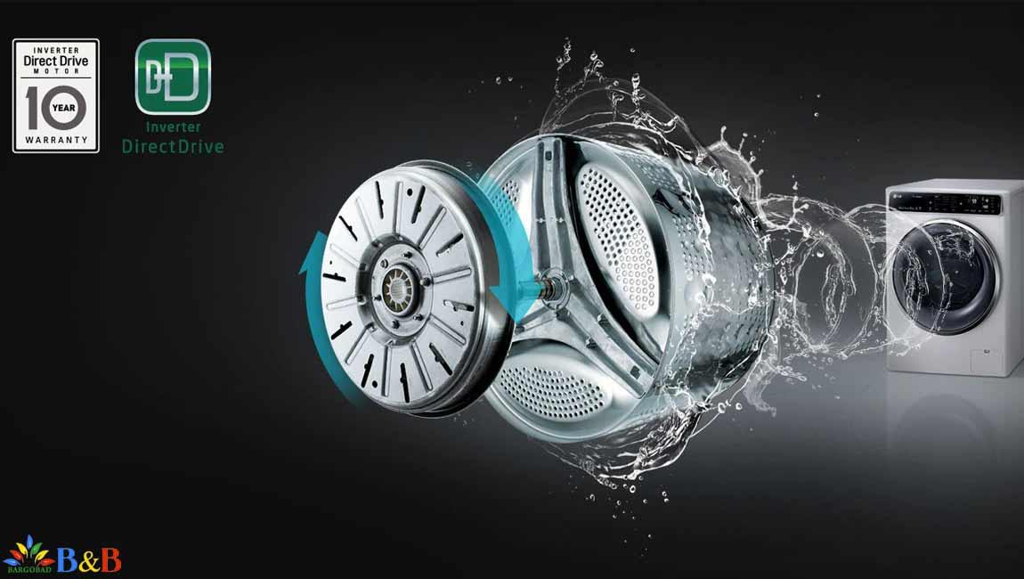 موتور اینورتر دایرکت درایو در ماشین لباسشویی F4M5