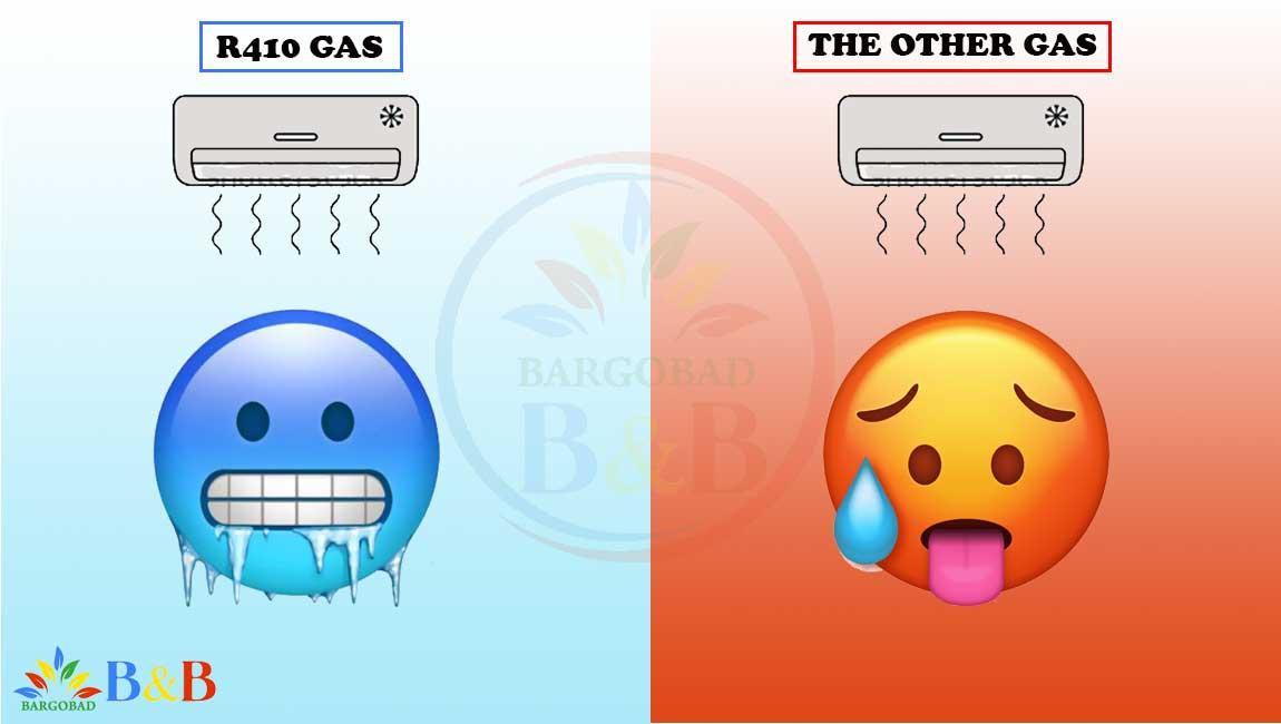 گاز مصرفی کولر گازی گری G4 Matic جی فورماتیک 36000