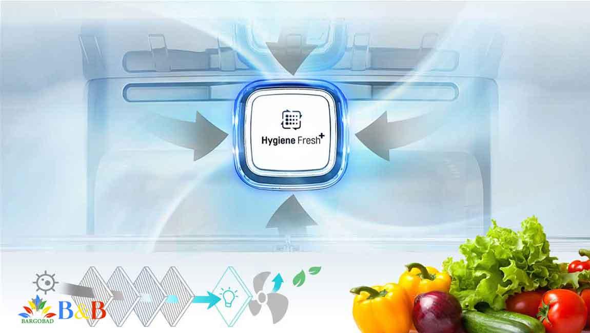 +Hygene Fresh در یخچال J35