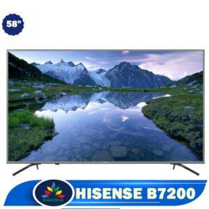 تلویزیون 58 اینچ هایسنس B7200 فورکی 58B7200 مدل 2019