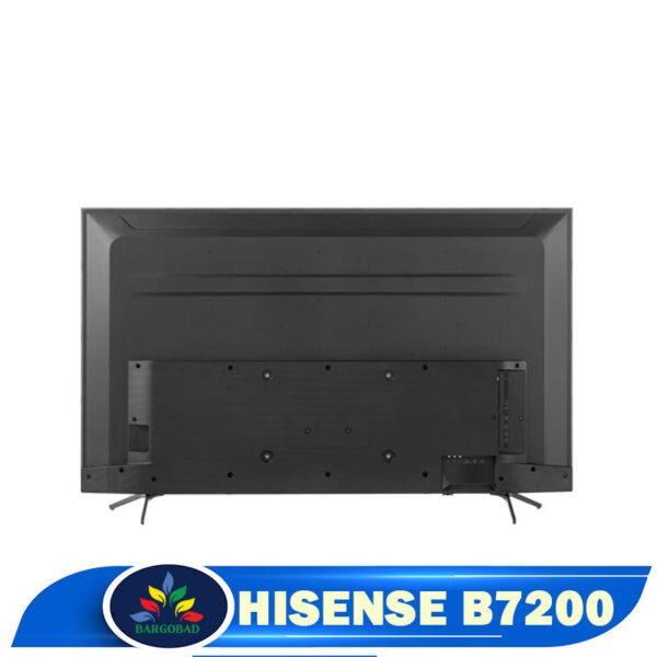 نمای پشت تلویزیون هایسنس B7200