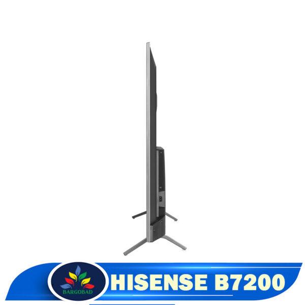 ضخامت تلویزیون هایسنس B7200