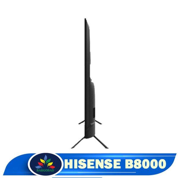 ضخامت تلویزیون هایسنس b8000