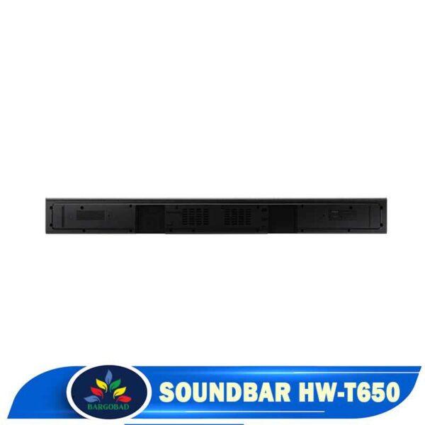 نوار صدای سیستم صوتی ساندبار T650