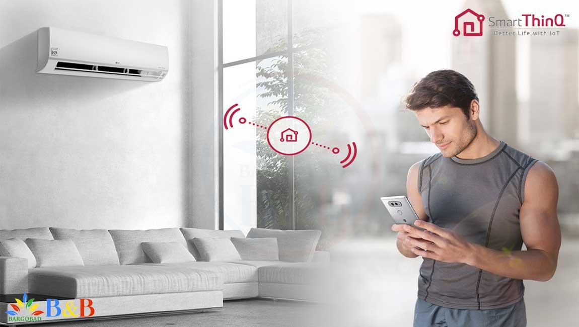 Smart ThinQ کولر گازی ال جی I CONTROL آی کنترل 24000