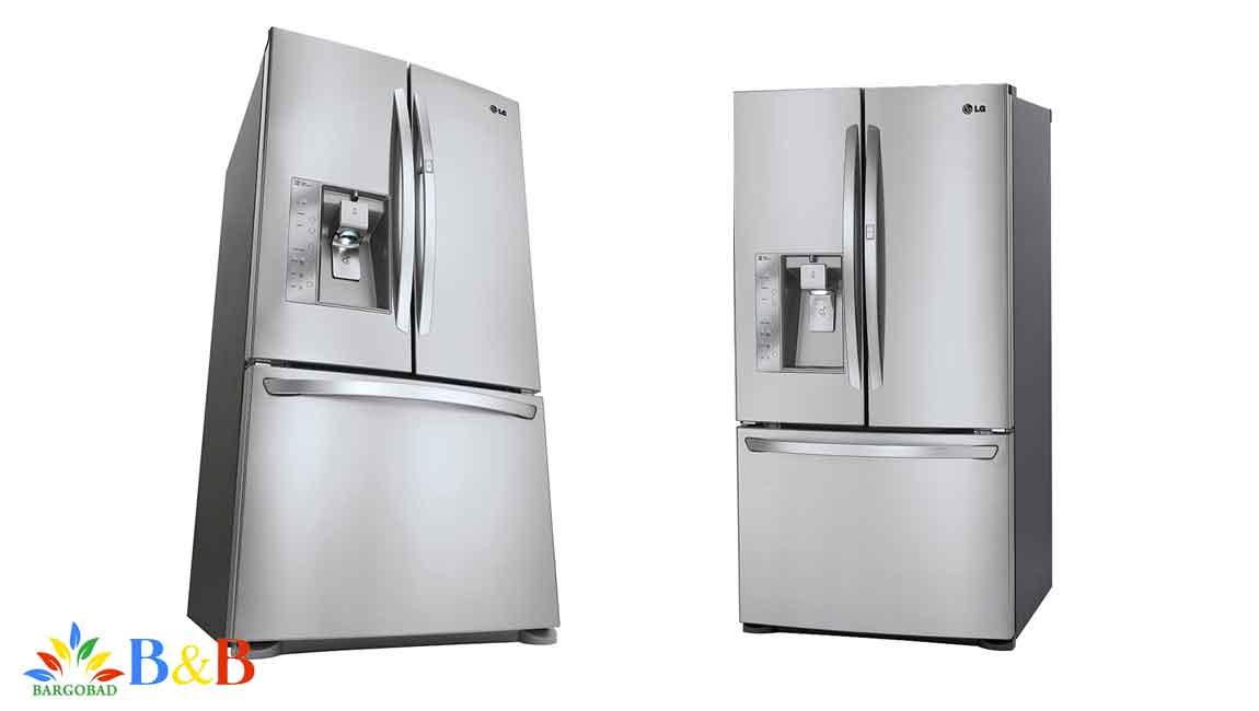 طراحی یخچال ال جی J338