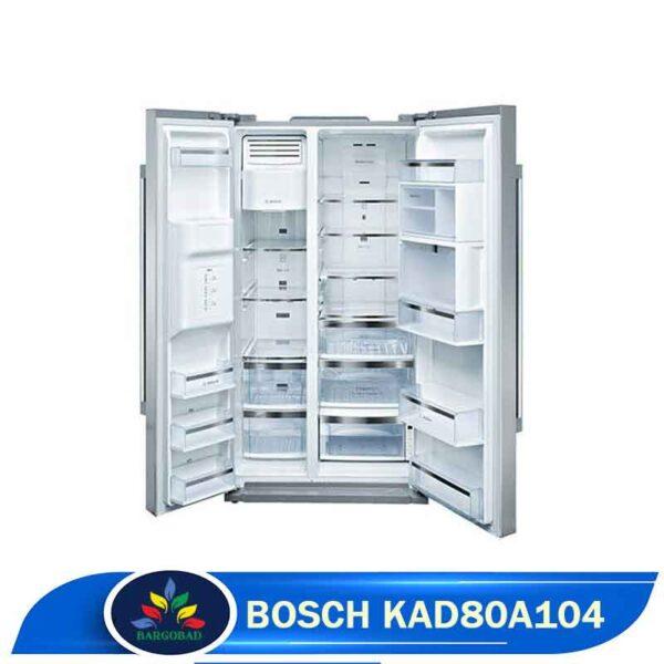 یخچال فریزر بوش KAD80A104