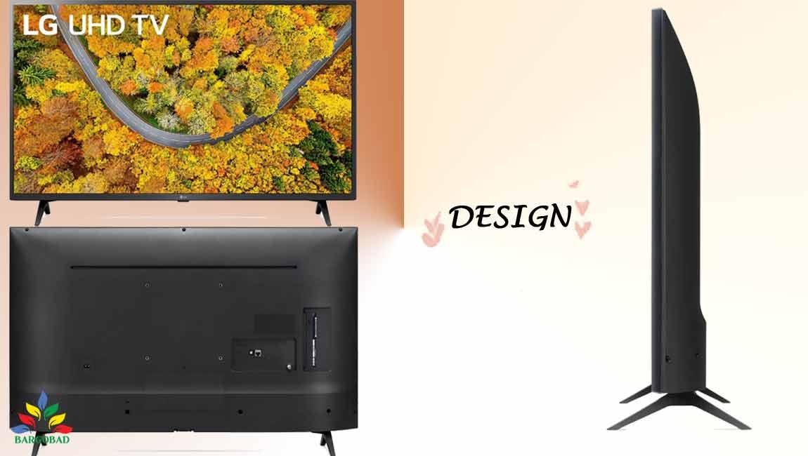 طراحی تلویزیون ال جی UP7600