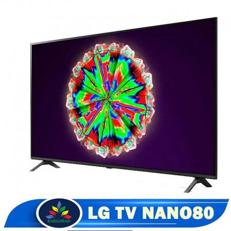 حاشیه تلویزیون 55 اینچ ال جی NANO80