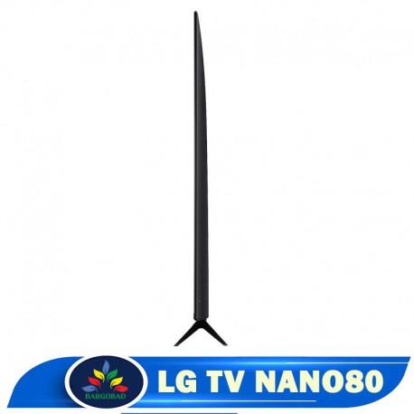 زاویه تلویزیون 49 اینچ ال جی NANO80