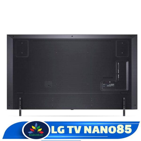 پشت تلویزیون ال جی NANO85
