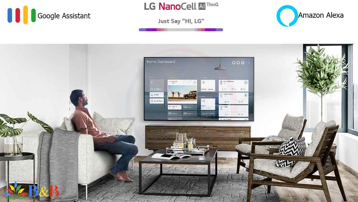 امکانات هوشمند تلویزیون NANO85