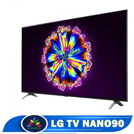 حاشیه تلویزیون 75 اینچ ال جی NANO90