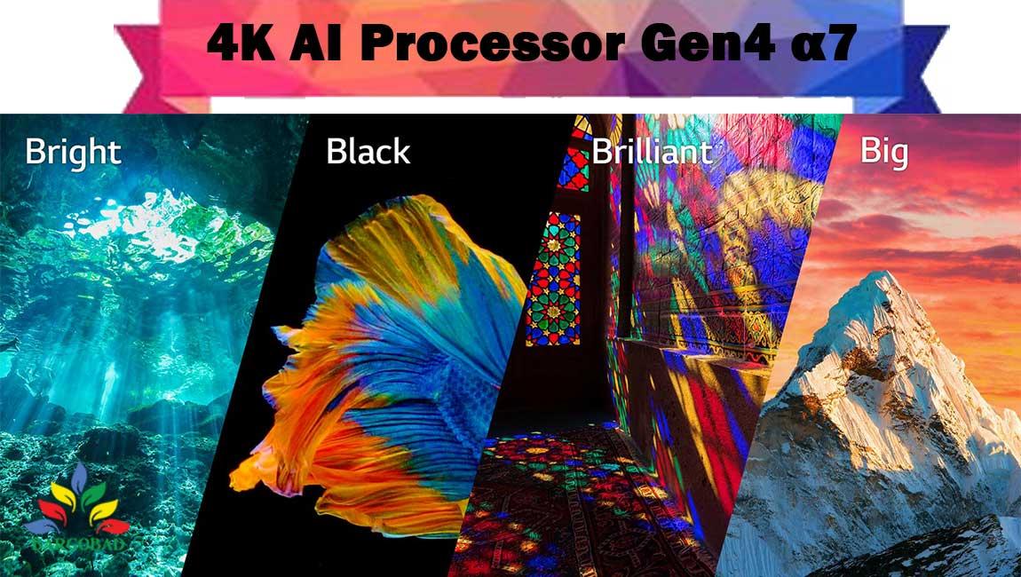 پردازنده ی تلویزیون ال جی QNED90