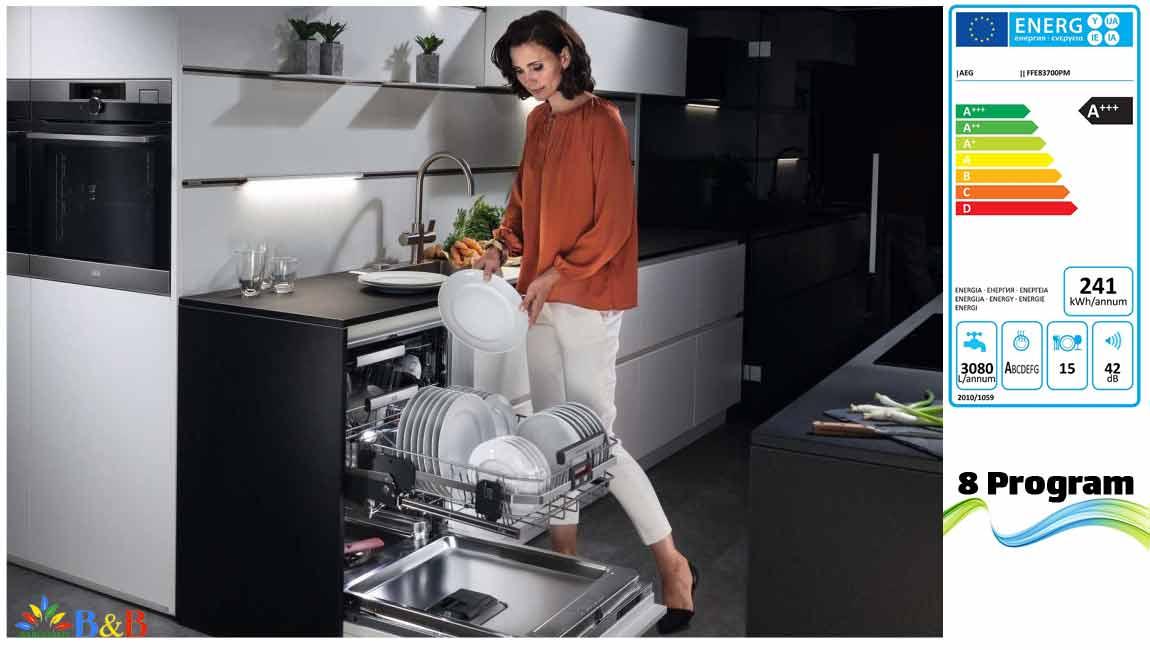 طراحی ظرفشویی آاگ 15 نفره FFE83700PM