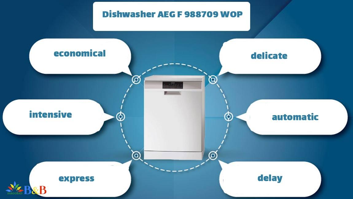 برنامه های ظرفشویی آاگ در ماشین ظرفشویی آاگ 988709