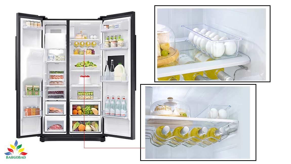 طراحی داخلی یخچال RS50