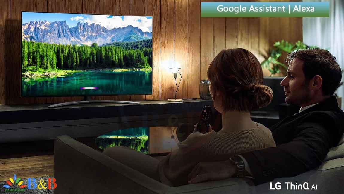 امکانات هوشمند تلویزیون ال جی SM8600