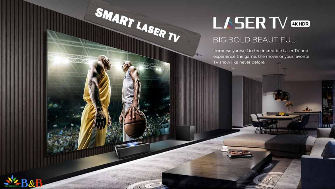 امکانت هوشمند تلویزیون لیزری هایسنس L10E