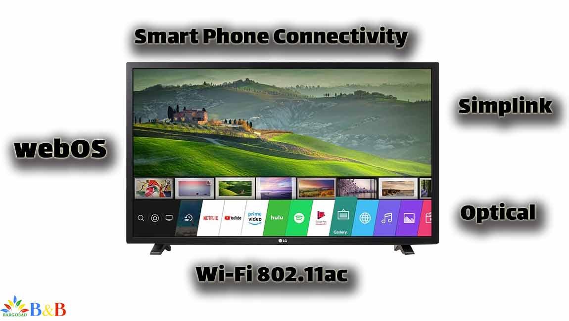 امکانات هوشمند تلویزیون ال جی 43LM6300