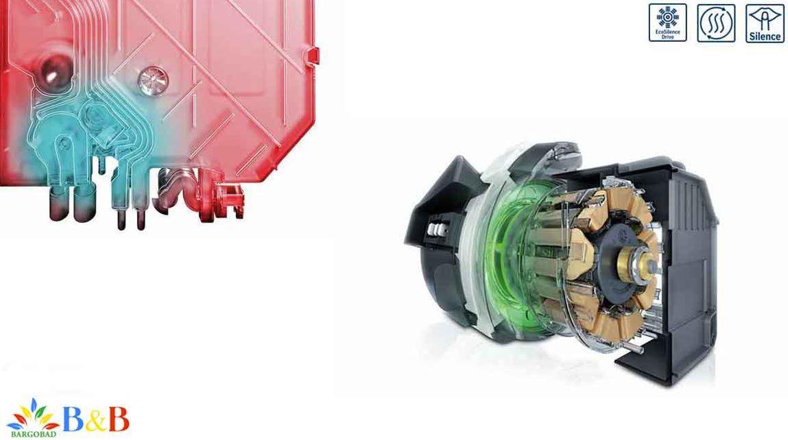 قدرت موتور ماشین ظرفشویی بوش SMS67MI10