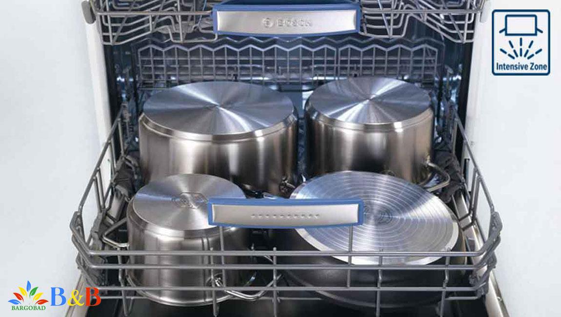 IntensiveZone در ظرفشویی بوش sms68ti02e