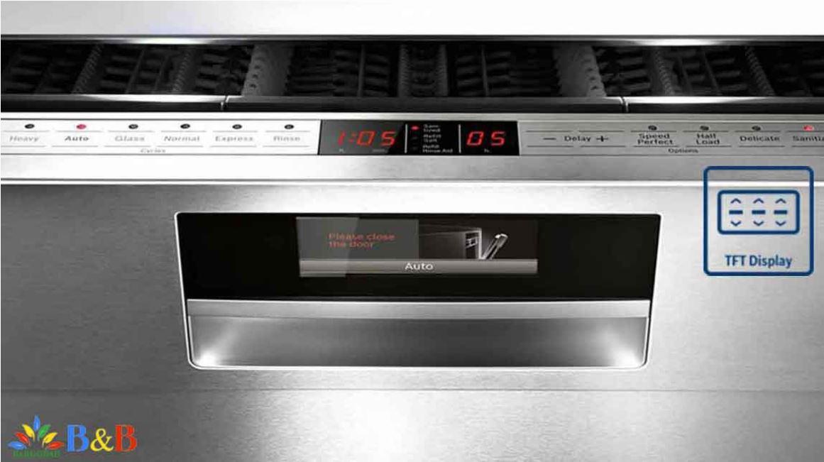 صفحه پنل لمسی ماشین ظرفشویی بوش 88TW02E