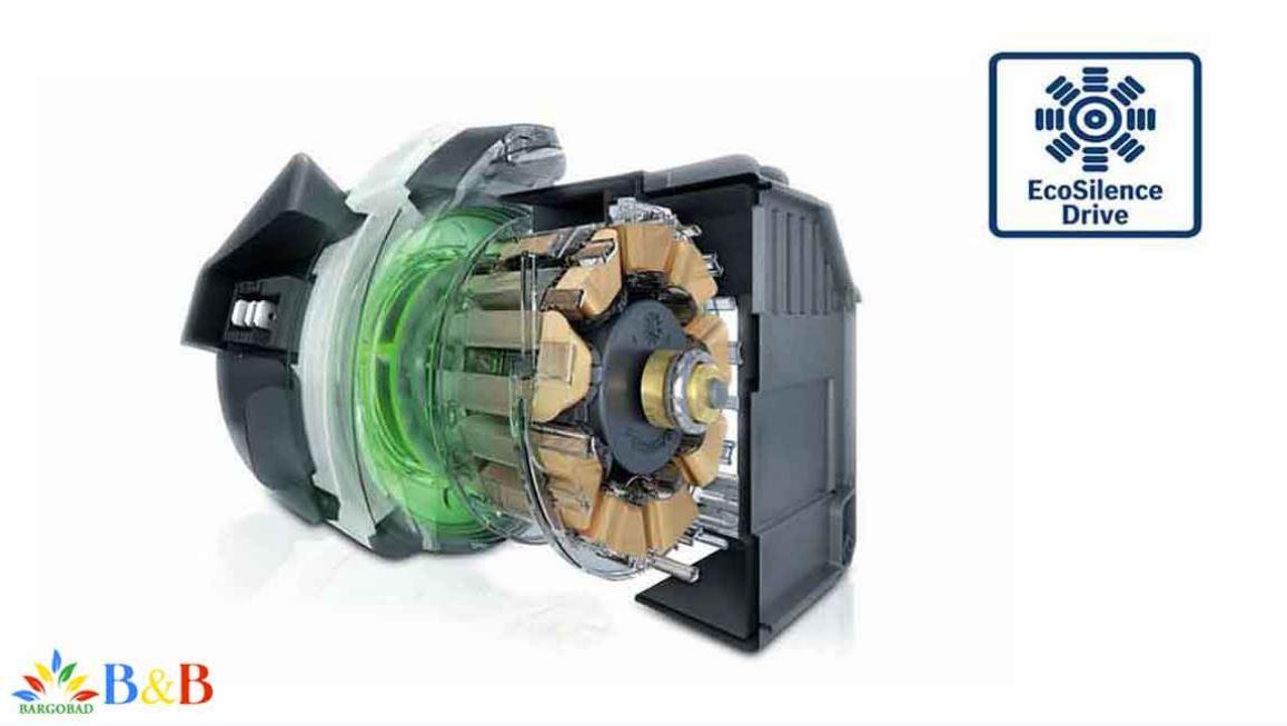 موتور قدرتمندEcoSilence Drive درظرفشویی بوش