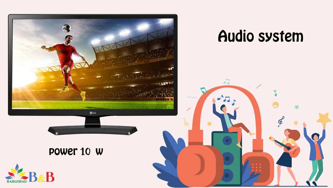 سیستم صوتی مانیتور ال جی sound-7