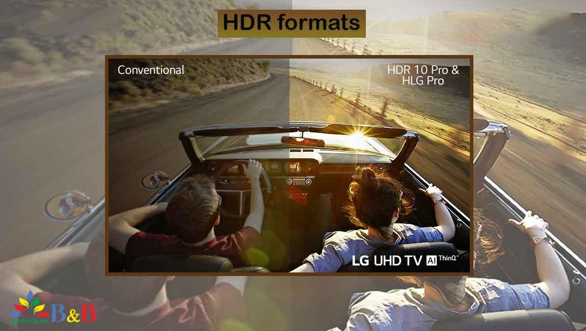 HDR تلویزیون 55 اینچ ال جی UN711