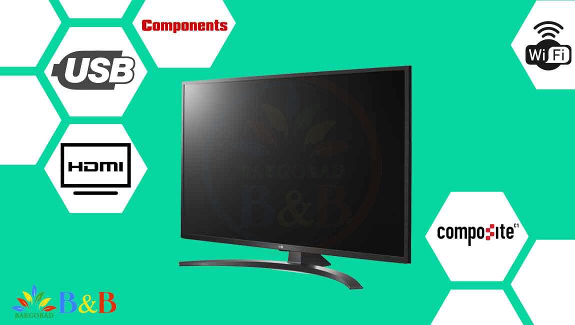 درگاه های ارتباطی تلویزیون ال جی UN7440