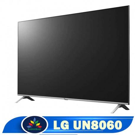 حاشیه تلویزیون تلویزیون 65 اینچ ال جی UN8060