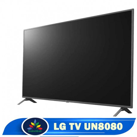 حاشیه تلویزیون 86 اینچ ال جی UN8080
