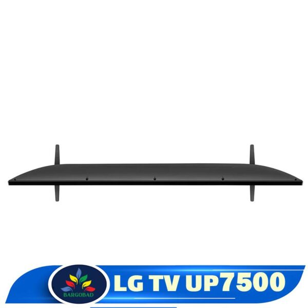 نمای بالای تلویزیون ال جی UP7500