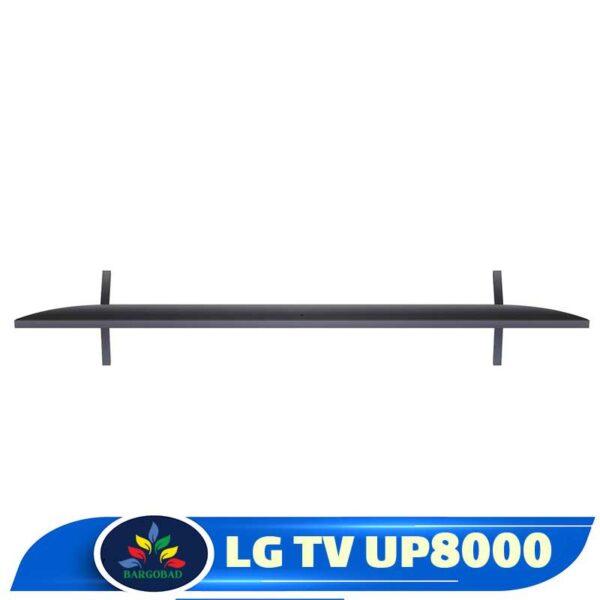نمای بالای تلویزیون ال جی UP8000
