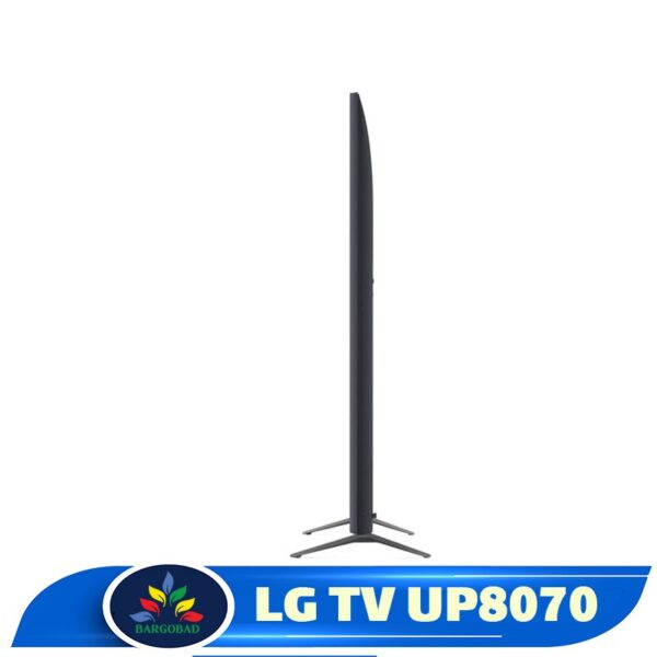 ضخامت تلویزیون ال جی UP8070