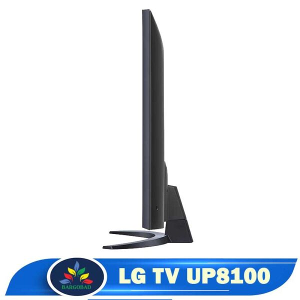 ضخامت تلویزیون ال جی UP8100