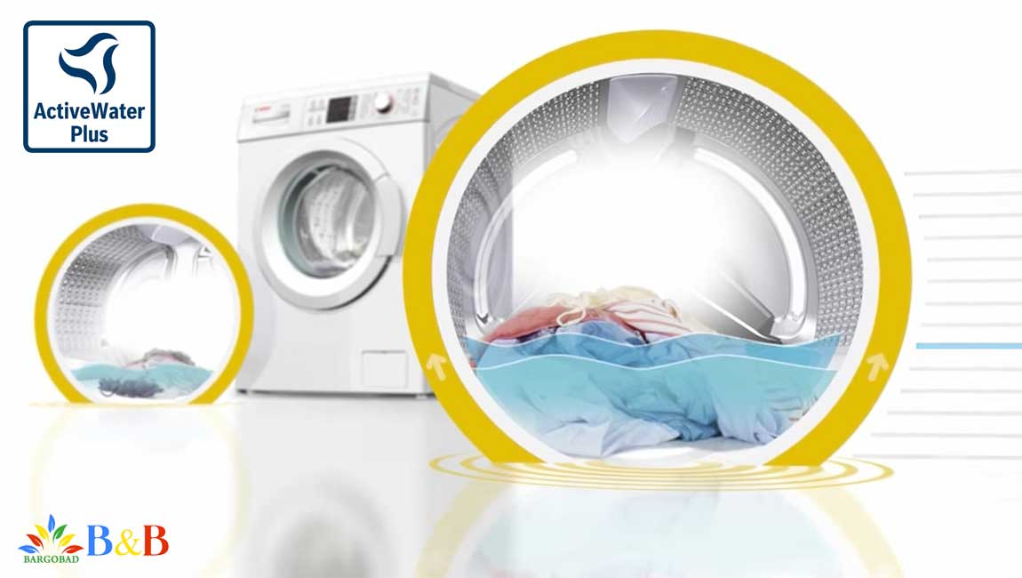 قابلیت ACTIVE WATER در ماشین لباسشویی 325
