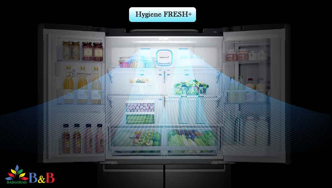 قابلیتHygiene FRESH+ یخچال X334