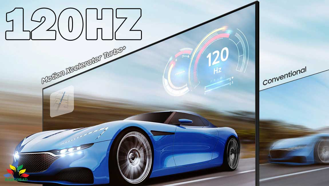نرخ رفرش 120 هرتز تلویزیون سامسونگ QN900A