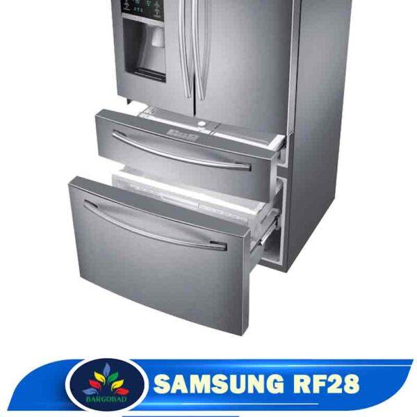 کشو های یخچال فریزر سامسونگ RF28