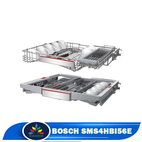 سبدهای ماشین ظرفشویی 13 نفره بوش 4HBI56E مدل SMS4HBI56E