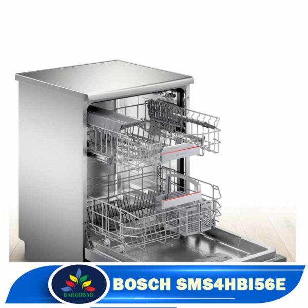 فضای داخلی ماشین ظرفشویی 13 نفره بوش 4HBI56E مدل SMS4HBI56E