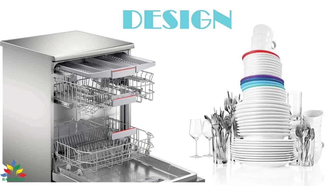 طراحی ماشین ظرفشویی 13 نفره بوش SMS4HVI31E