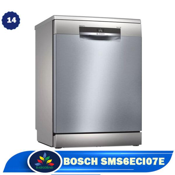 ماشین ظرفشویی 14 نفره بوش 6ECI07E مدل SMS6ECI07E