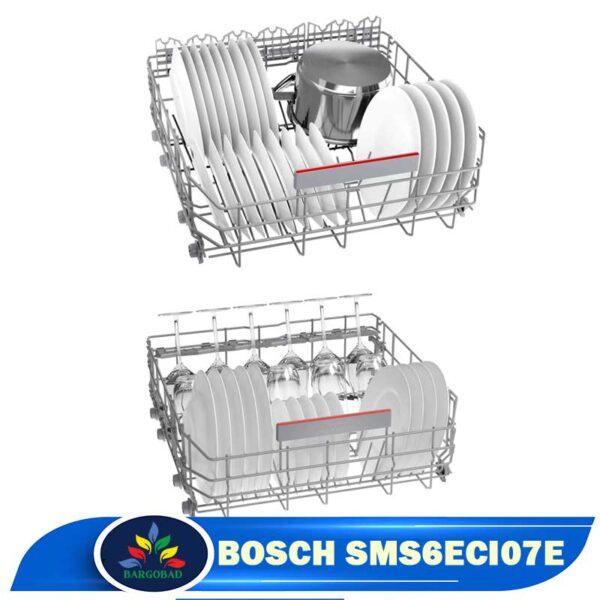 قفسه های ماشین ظرفشویی 14 نفره بوش 6ECI07E مدل SMS6ECI07E