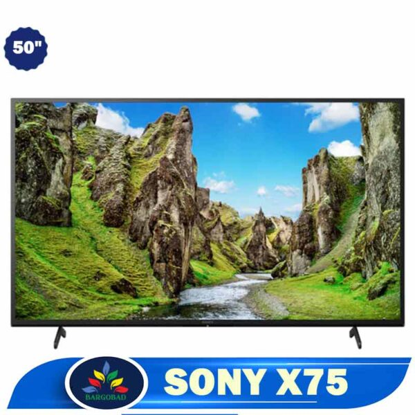 تلویزیون سونی 50 اینچ X75