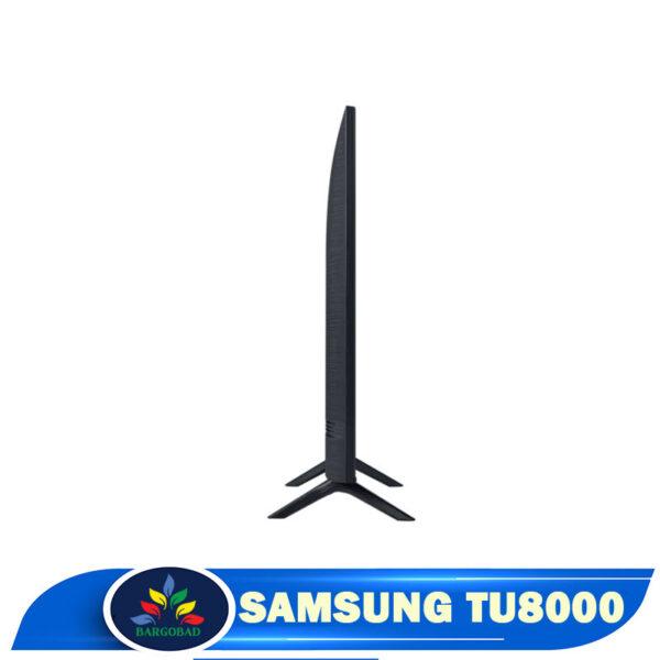 ضخامت تلویزیون سامسونگ TU8000