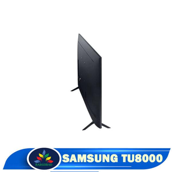 نمای پشت تلویزیون سامسونگ TU8000