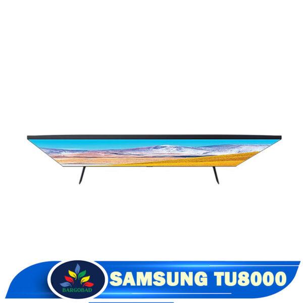نمای بالای تلویزیون سامسونگ TU8000